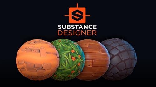 Udemy - Substance Designer 2020 Stylized material creation