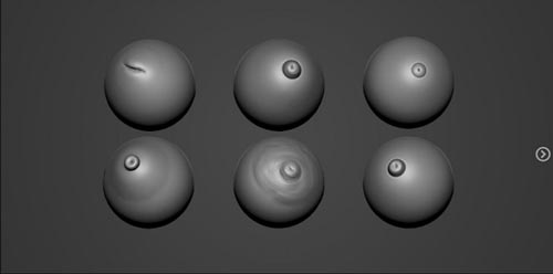 Artstation - ZBrush Perfect Nipple Brush - Mercurial Forge
