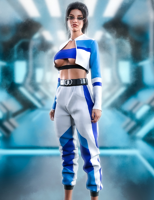 The Leader dForce outfit for Genesis 8 & 8.1 Females