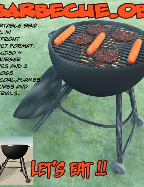 barbecue.obj