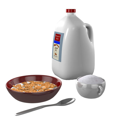 CerealBreakfast.obj