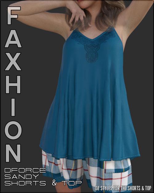 Faxhion - dForce Sandy Tank & Shorts