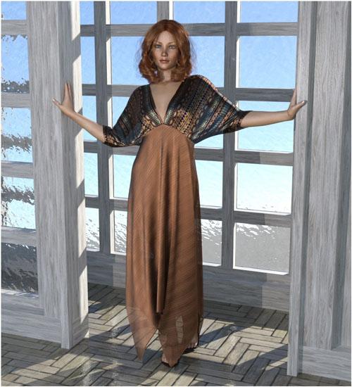 dForce - Saffron Dress for G8F