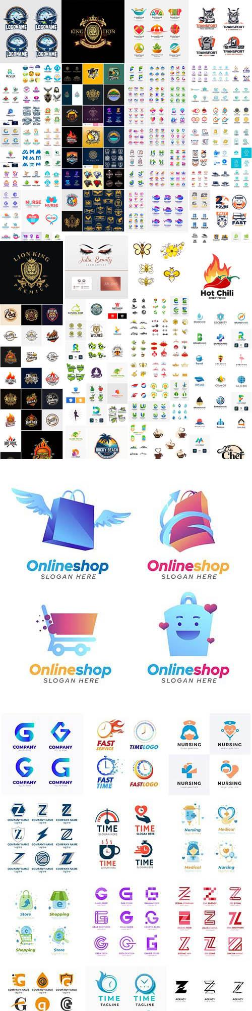 Logo collection vector design part 01