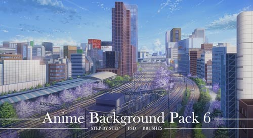 Gumroad - Nik Background Animation Pack 1 and 6