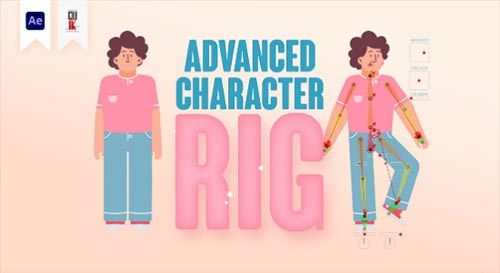 Udemy - How to set advanced character rig with DUIK in After effects