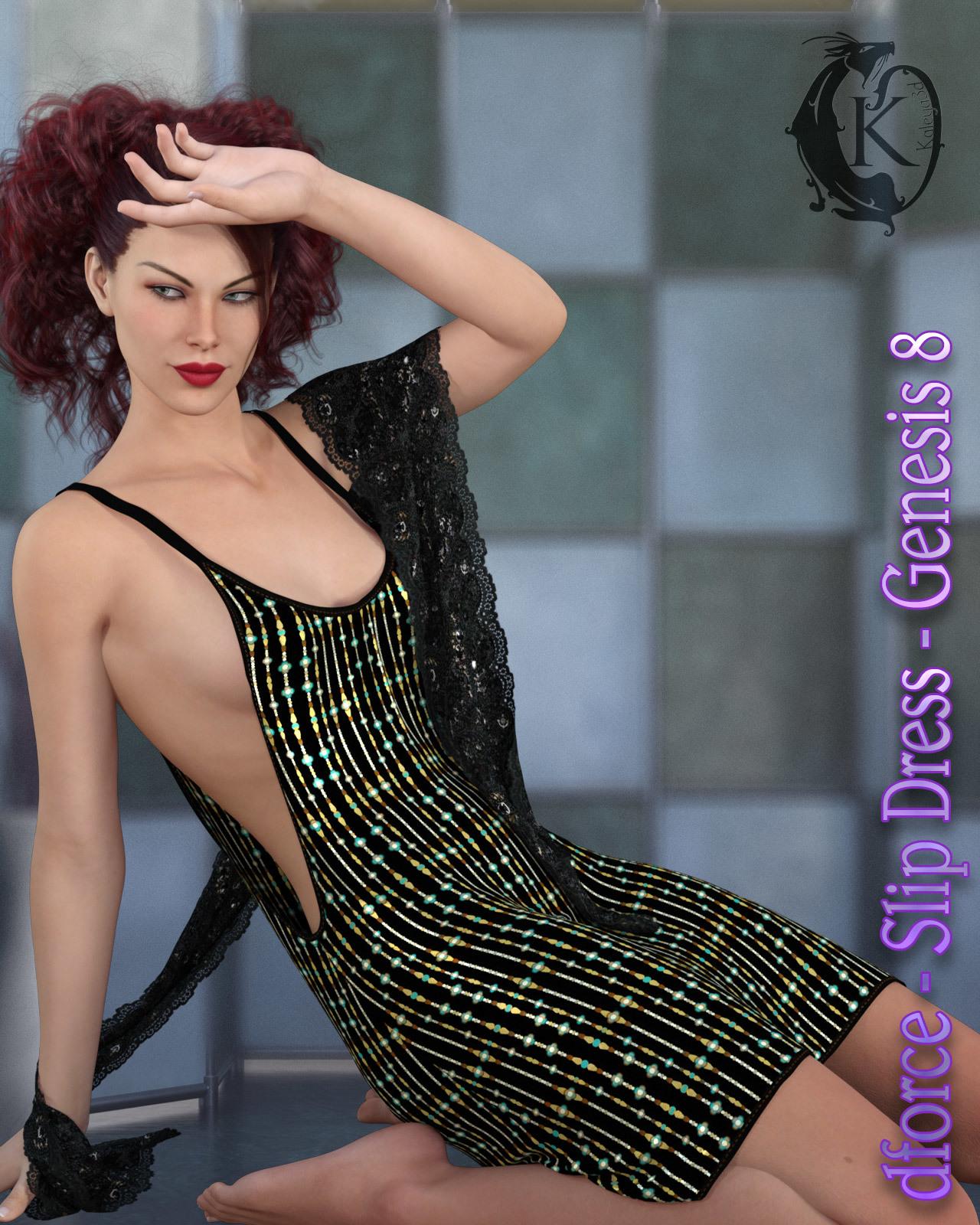 dforce - Slip Dress - Genesis 8