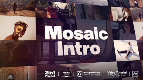 Videohive - Mosaic Intro - 31496131