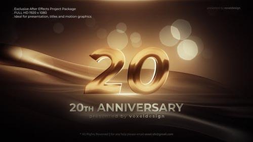 Videohive - Anniversary Opener - 32029920