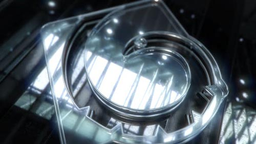 Videohive - Glass Text and Logo Reveal - 13743661