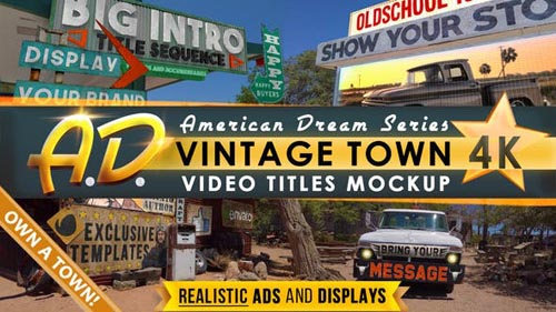 Videohive - Vintage Town Titles Intro   AD - 31902618