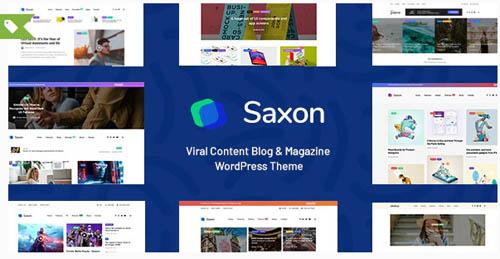 ThemeForest - Saxon v1.8 - Viral Content Blog & Magazine Marketing WordPress Theme - 22955117