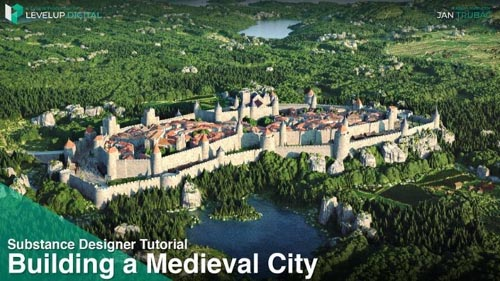 Gumroad - LevelUp Digital Building a Medieval City