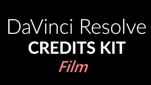 Film Credits Kit 629092 - DaVinci Resolve
