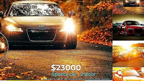 Unique Car Dealership Slideshow - Project for After Effects