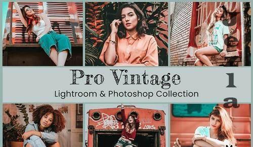 Vintage Lightroom Photoshop LUTs - 6411158
