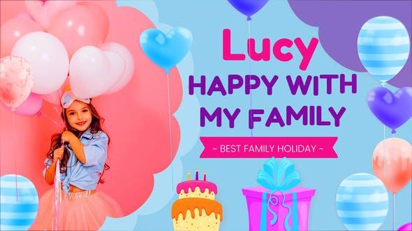 Videohive - Happy Birthday Lucy - 32334481