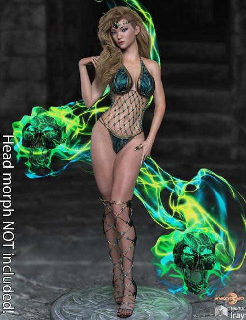 Fantasy Body Morphs for G8F Vol 1