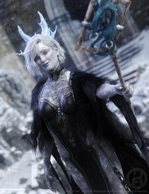 Ice Queen for Genesis 8 Female