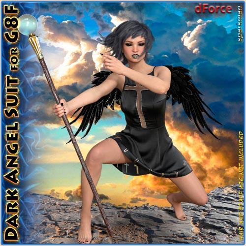 dForce Dark Angel Suit for Genesis 8 Female