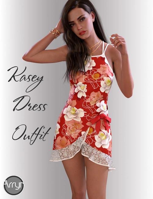 dForce Kasey Candy Dress for Genesis 8 Female(s)