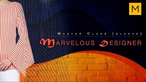 Skillshare - Masterclass in Marvelous Designer (Sleeves)