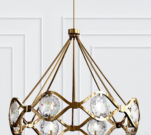 Quincy Chandelier By Crystorama