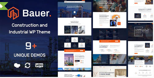 ThemeForest - Bauer v1.13 - Construction and Industrial WordPress Theme - 23904858