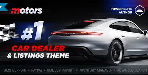 ThemeForest - Motors v5.0.7 - Car Dealer, Rental & Classifieds WordPress theme - 13987211 - NULLED