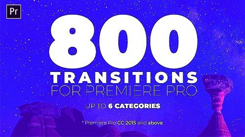 Seamless Transitions Pack 129339 - Premiere Pro Templates