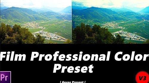 Film Professional Color V3 165399 - Premiere Pro Presets