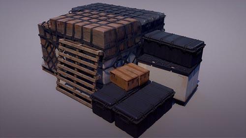 Udemy - Military Game Asset Creation in Blender & Marmoset