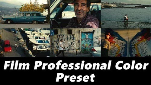 Film Professional Color Preset 136729 - Premiere Pro Presets