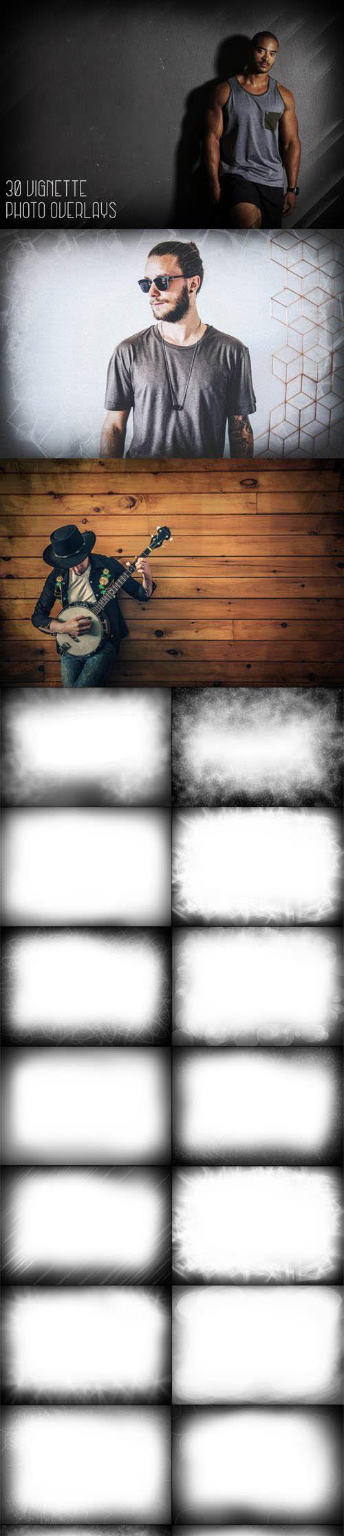 30 Vignette Photo Overlays