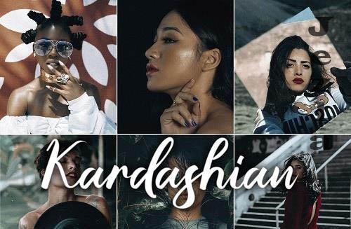 3 Lightroom Presets - Kardashian