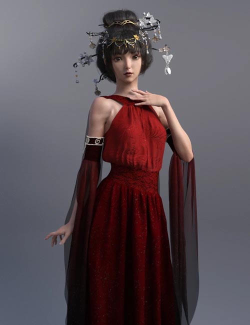 Luoqu for Genesis 8.1 Female