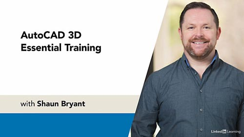 LinkedIn - AutoCAD 3D Essential Training