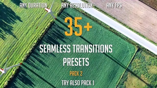 35+ Seamless Transitions Presets (pack 2)-123438 - Premiere Pro Templates