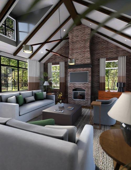 Tropical Oasis Lounge