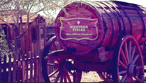 Western Titles 953584 - After Effects Templates