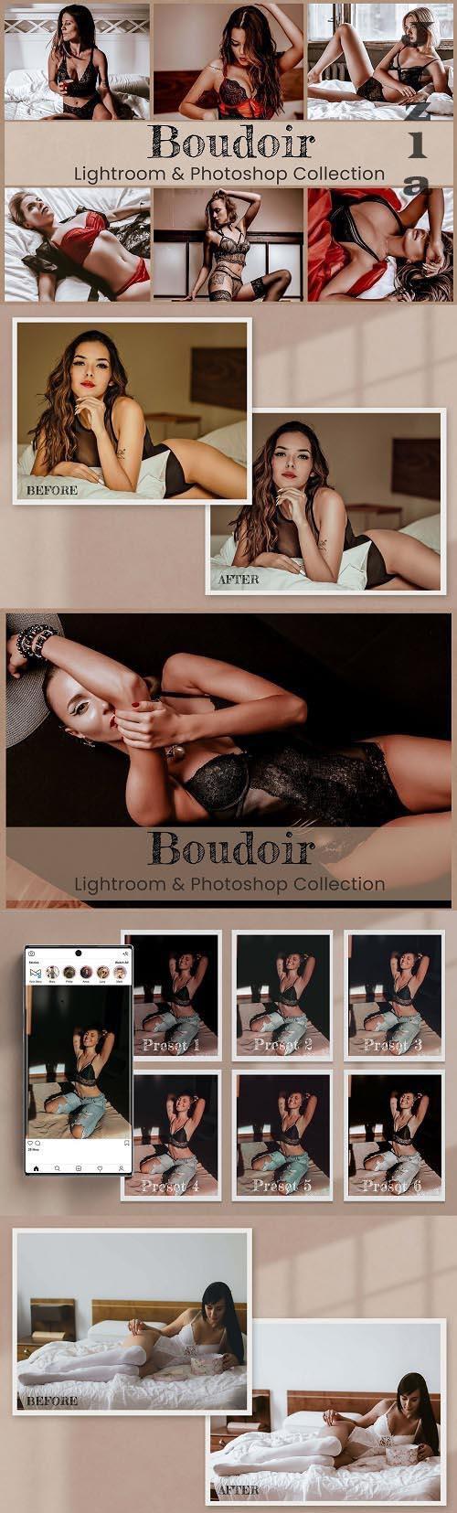 Boudoir Lightroom Photoshop ACR LUTs - 6450218