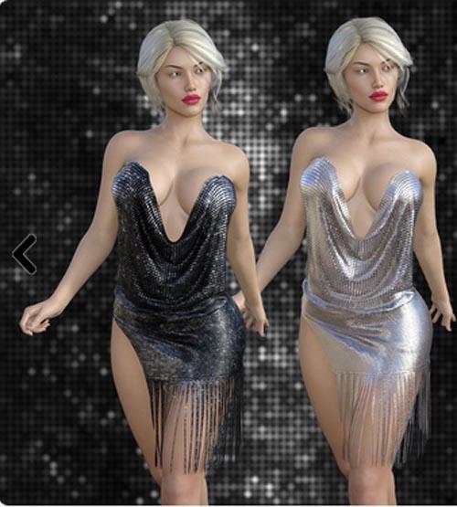 dForce Tassel Dress