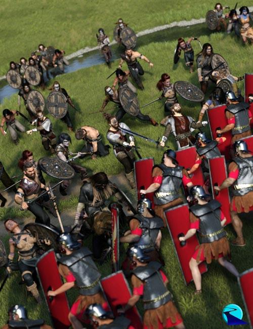 Now-Crowd Billboards - Barbarian Warriors Injured (Barbarian Warriors Vol IV)