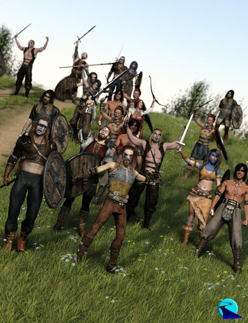 Now-Crowd Billboards - Barbarian Warriors Cheering (Barbarian Warriors Vol II)
