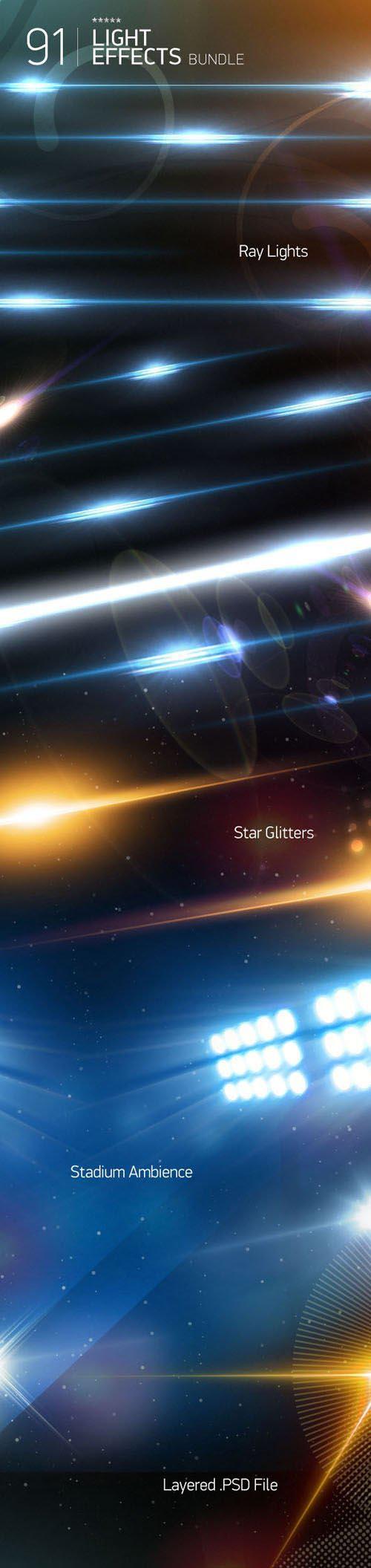 Light Effects PSD Templates Bundle