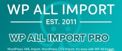 WP All Import Pro v4.6.9 - Plugin Import XML or CSV File For WordPress