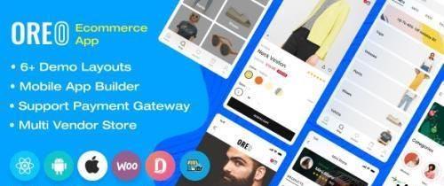 CodeCanyon - Oreo Fashion v2.5.1 - Full React Native App for Woocommerce - 24951657 - NULLED