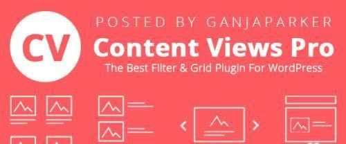 Content Views Pro v5.8.7.1 - Display Any WordPress Posts Easily