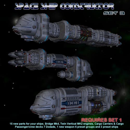 Space Ship Constructor Set 3