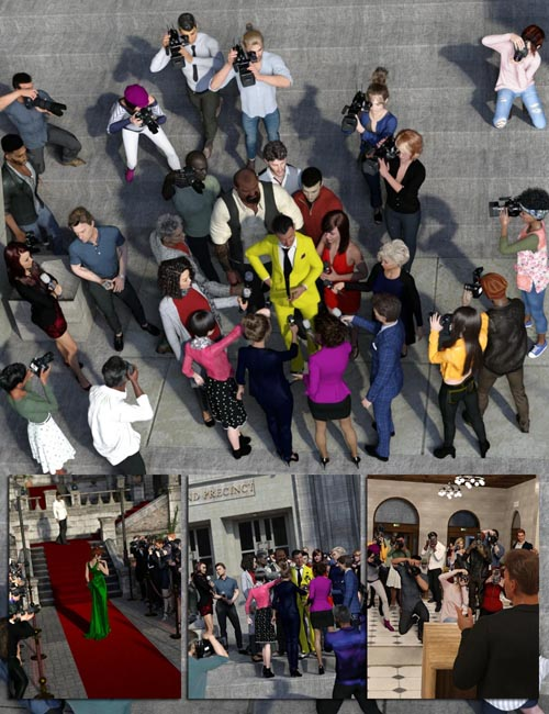 Now-Crowd Billboards - Paparazzi Bundle ***ADDED MISSING FILES***